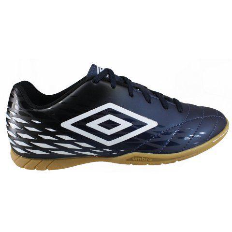 Chuteira Futsal Umbro Fifty II Masculino - Azul/Preto