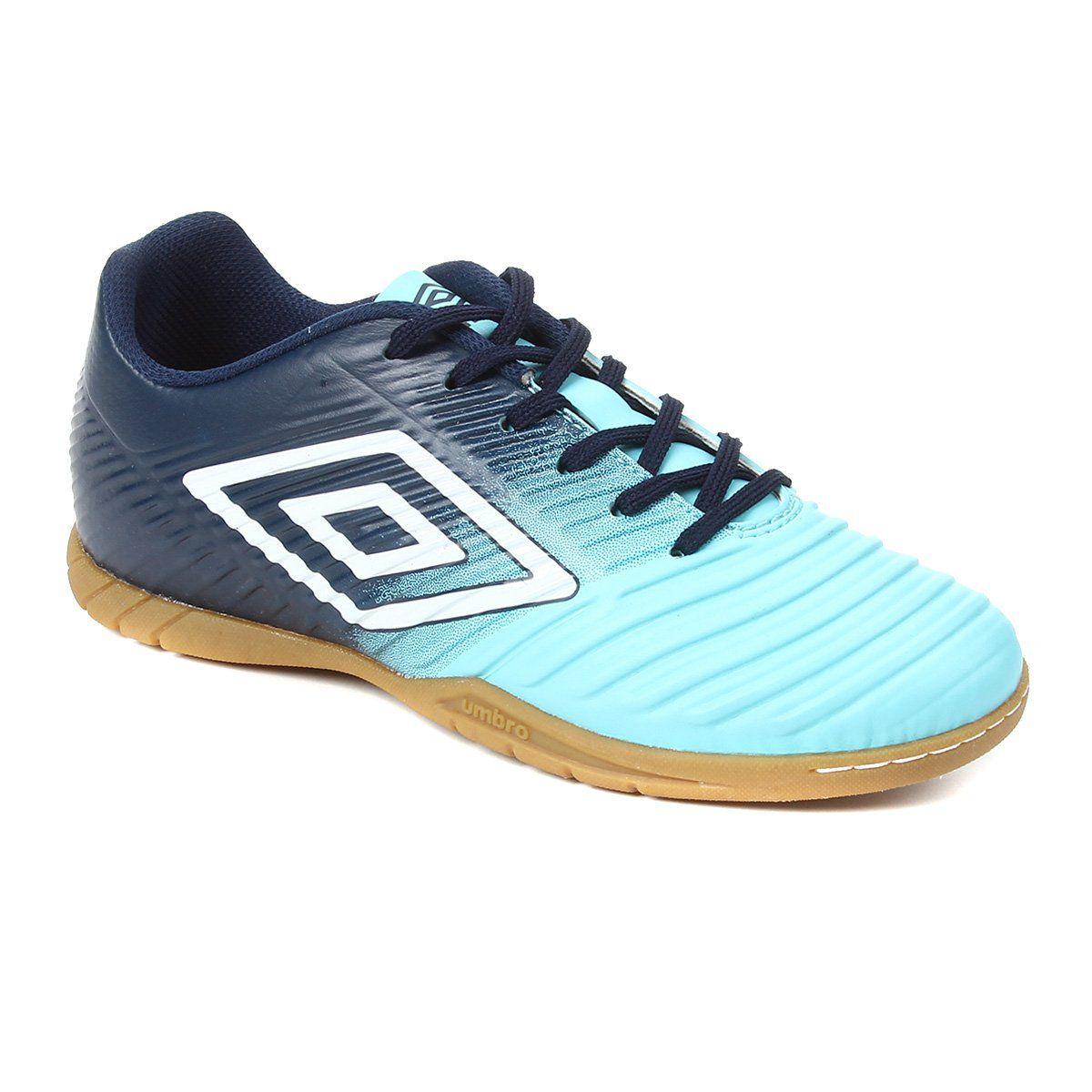 Chuteira Futsal Umbro Fifty III Masculino - Azul/Marinho