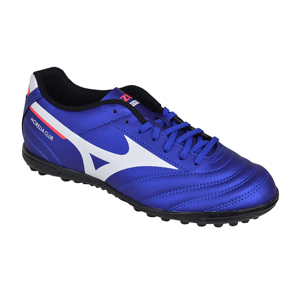 Chuteira Mizuno Society Morelia Club  AS - Azul e Branco