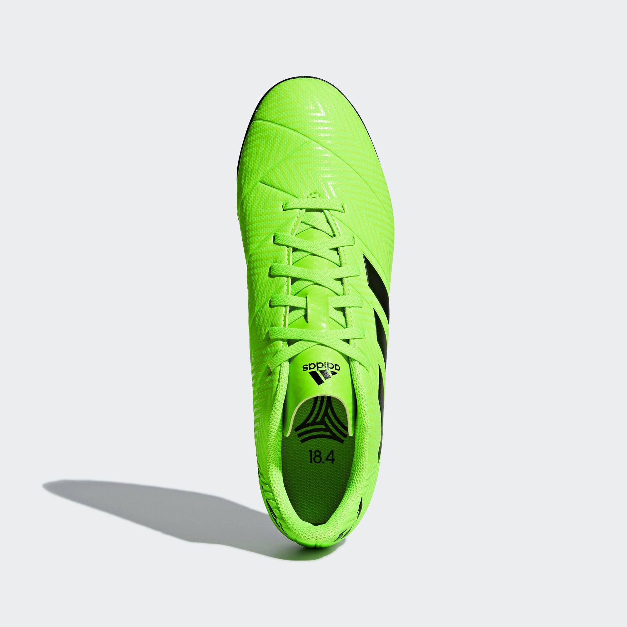 Chuteira Society Adidas Nemeziz Messi Tango 18.4 - Verde