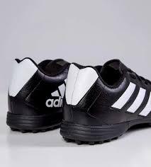 Chuteira Society Goletto VII Adidas - Masculino - Preto e Branco