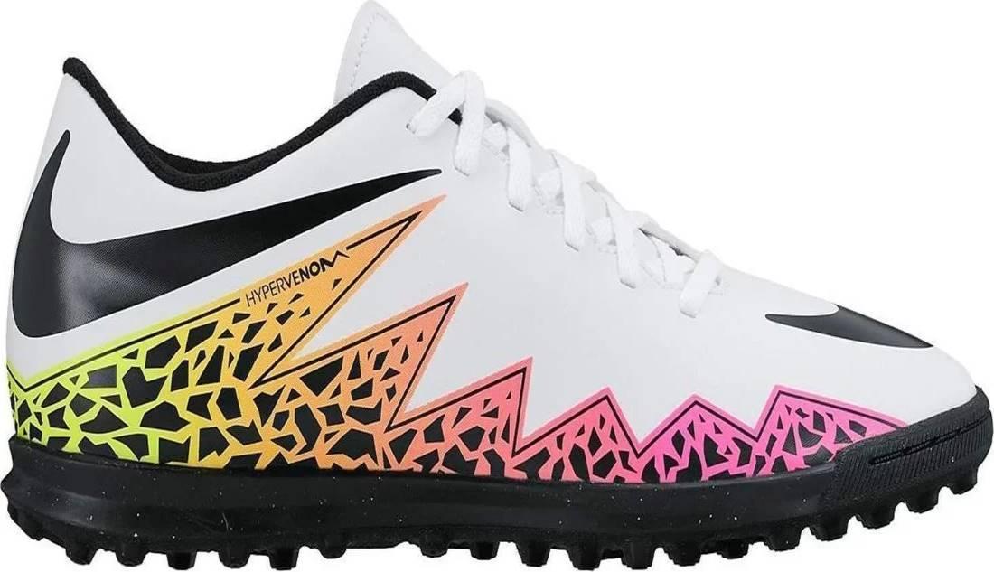 Chuteira Society Nike Hypervenom Phade II TF - Branco