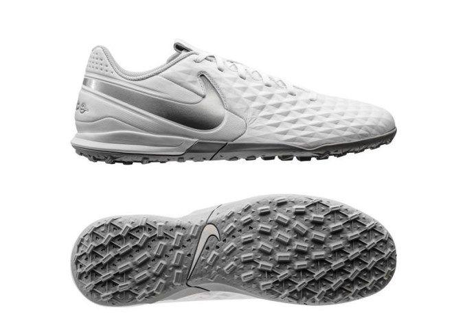 Chuteira Society Nike Tiempo Legend 8 Academy TF - Branco