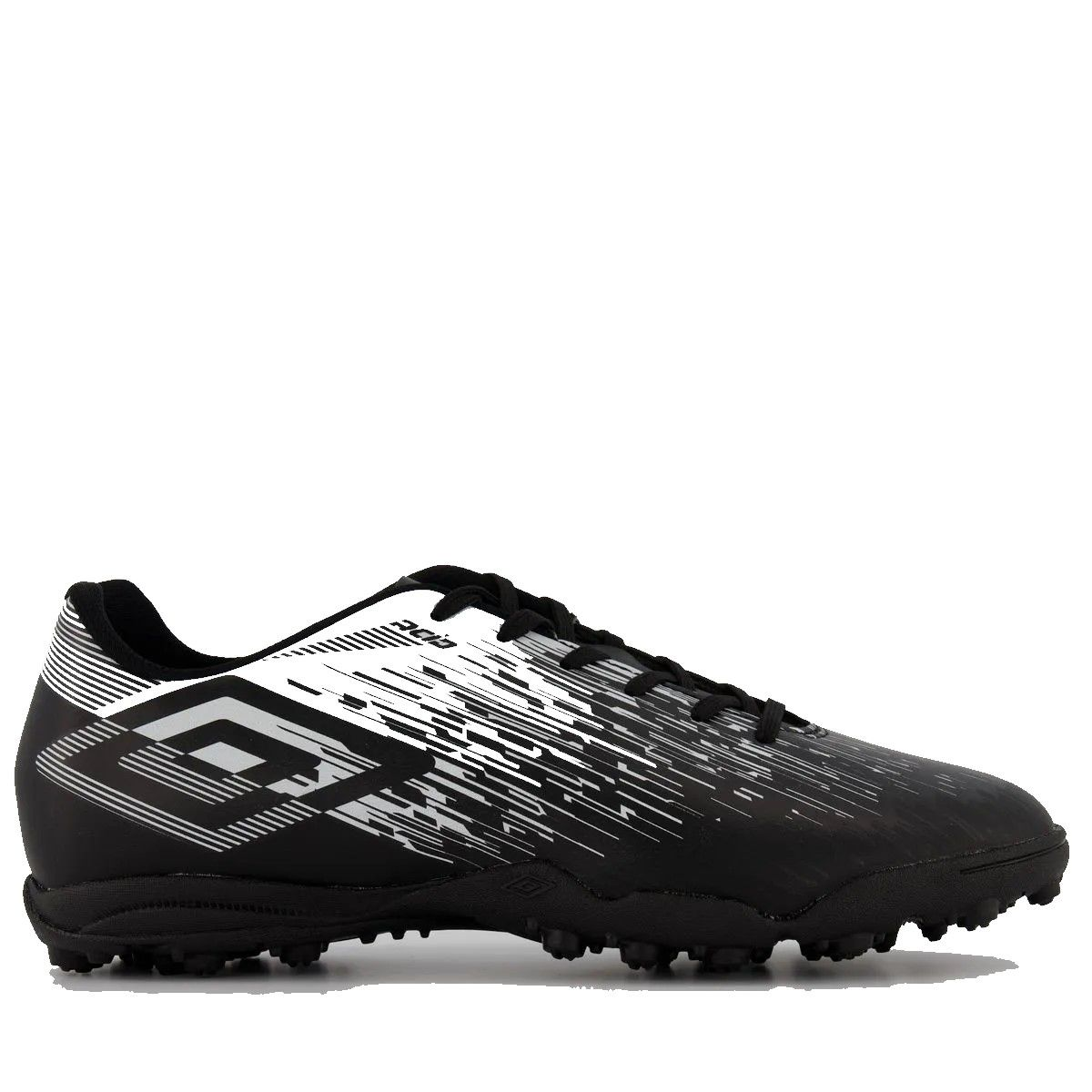 Chuteira Society Umbro Acid II Adulto - Preto/Branco