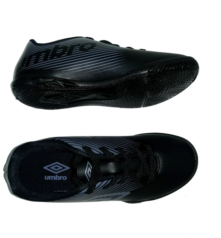 Chuteira Umbro Futsal F5 Light Infantil - Preto