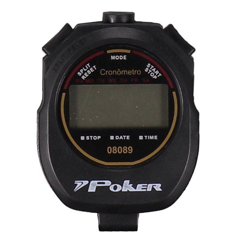 Cronômetro Poker Ergo Digital - Preto