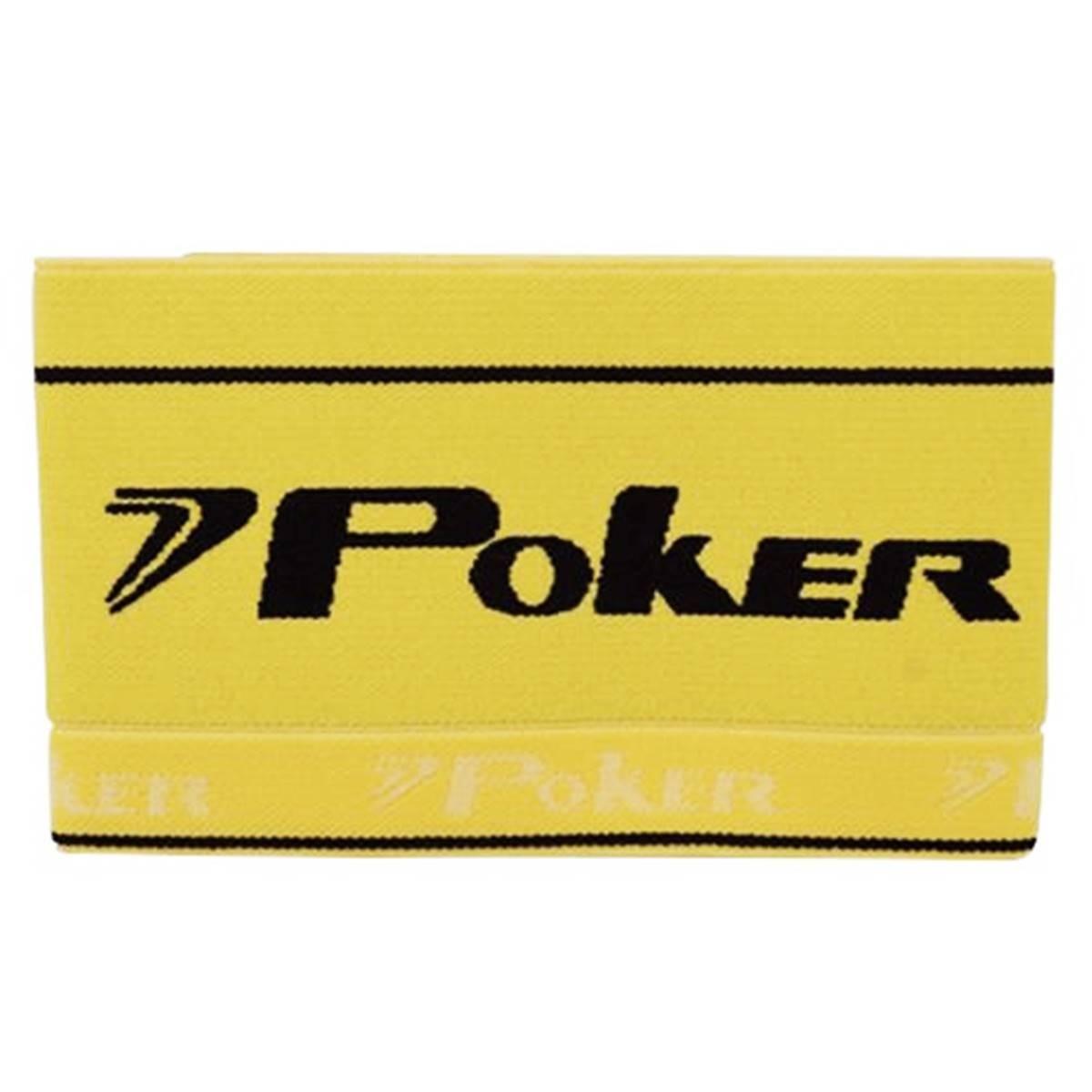 Faixa de Capitão Poker Elástica - Amarela
