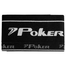 Faixa de Capitão Poker Elástica - Preta