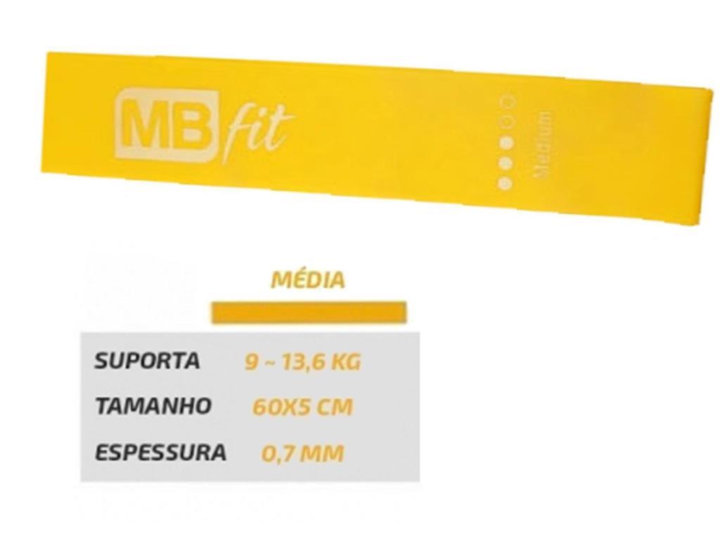 Faixa Elástica Média MBfit - Amarela