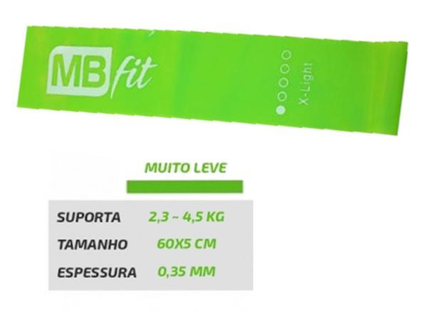 Faixa Elástica Suave MBfit - Verde