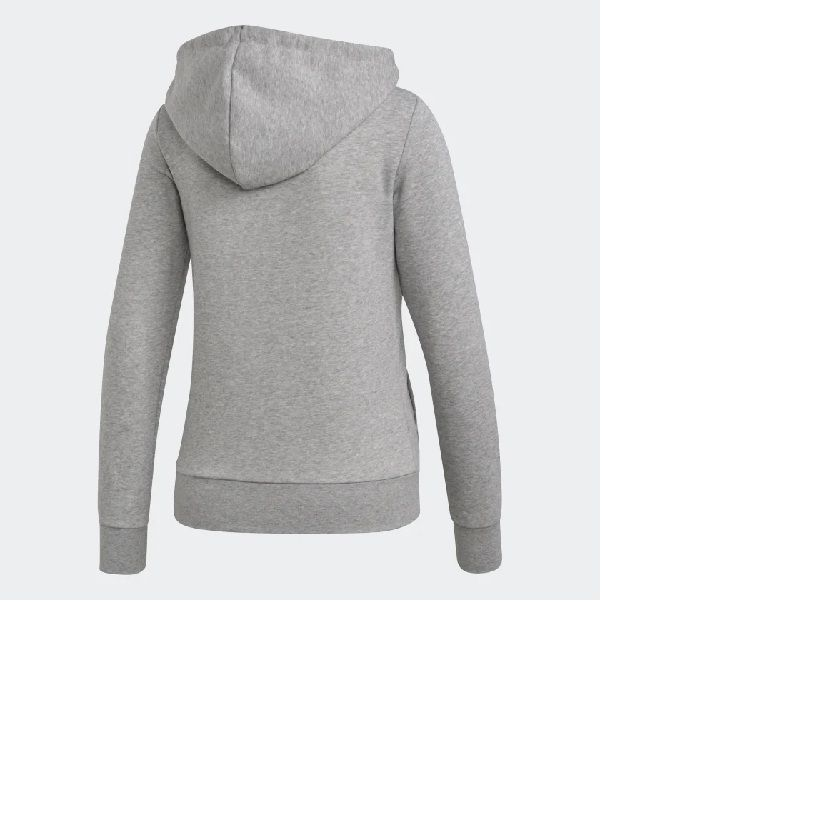 Jaqueta Adidas Capuz Essentials Solid DU0664- Feminino - Mescla
