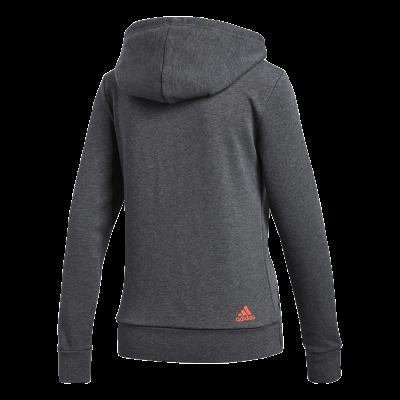 Jaqueta Adidas Ess Lin FZ HD Feminino - Cinza