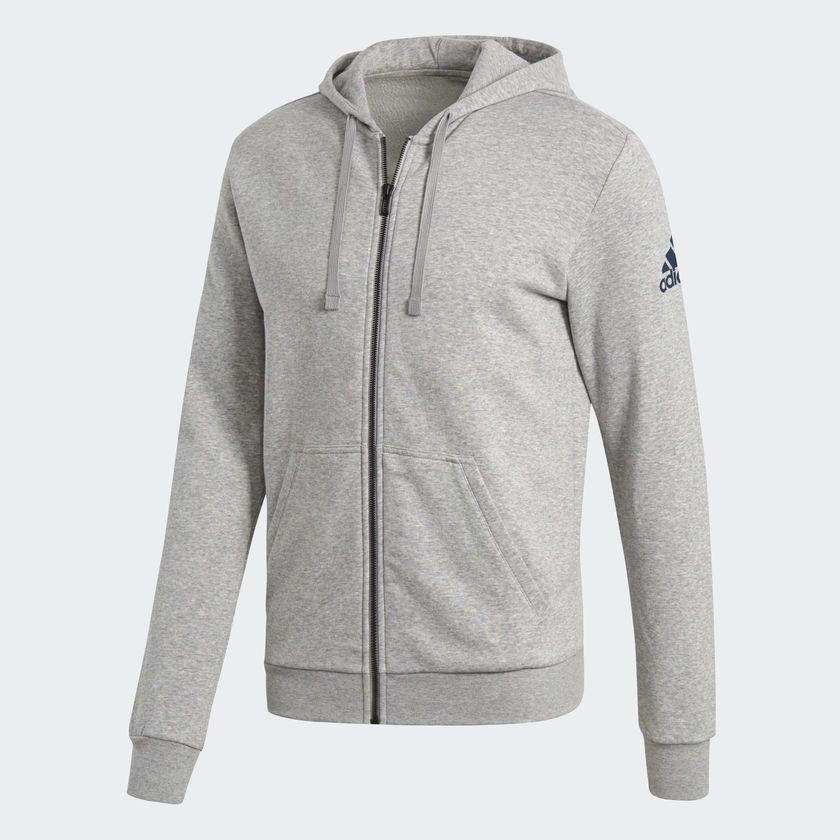 Jaqueta Adidas Capuz Essentials Base Fleece Masculina
