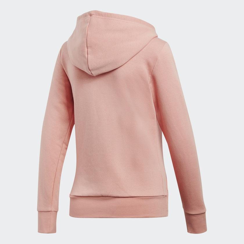 Jaqueta Adidas Capuz Essentials Slid Feminino - Rosa
