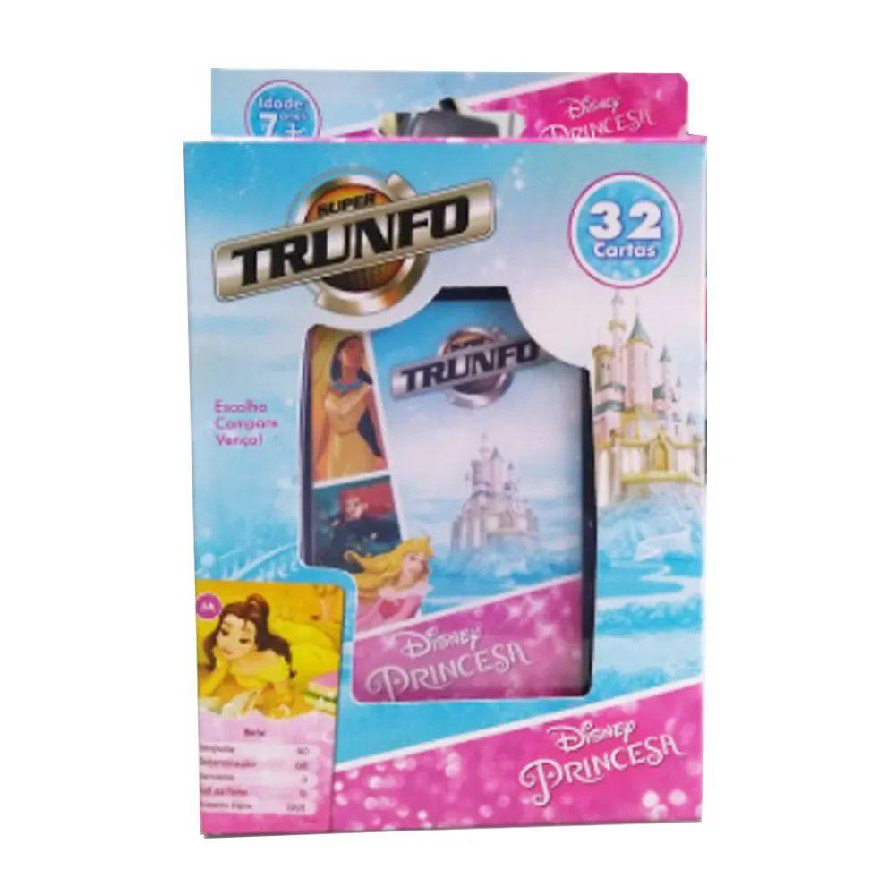Jogo Super Trunfo Princesas Disney - Grow