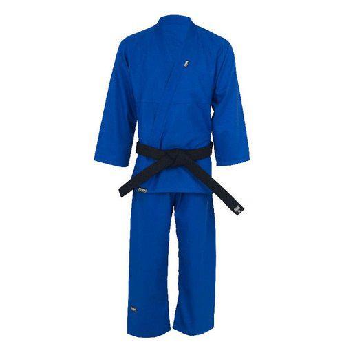 Kimono Shinai Jiu Jitsu Training Trançado - Infantil - Azul