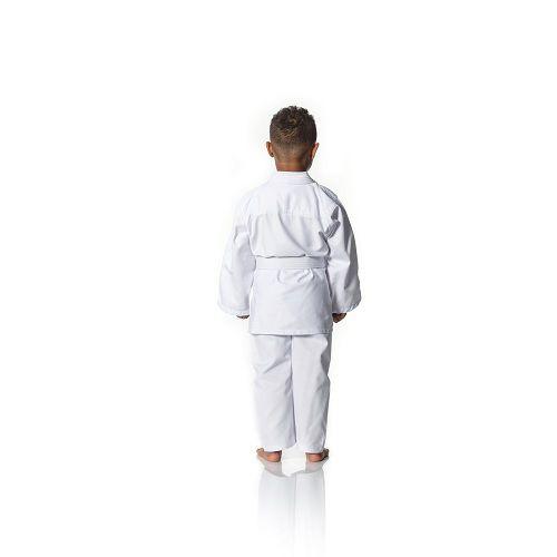 Kimono Shinai Judo Gi Reforçado Infantil M4 com Faixa - Branco