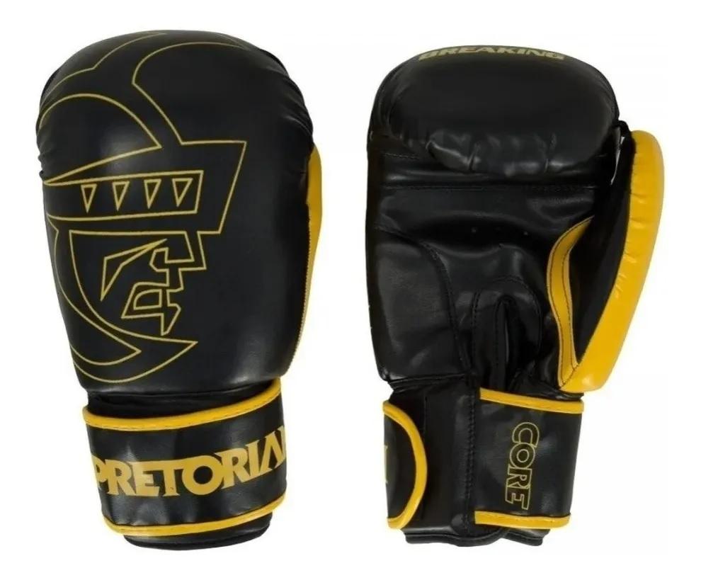 Kit Boxe e Muay Thai Pretorian First - Luva + Bandagem + Protetor Bucal
