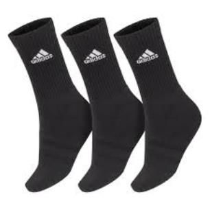 Kit Meia Adidas Cushion Crew 3 Pares - 41/43 Unissex