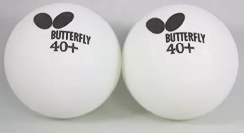 Kit Raquete de Tênis de Mesa Butterfly Timo Boll 1000 Com 2 Bolinhas