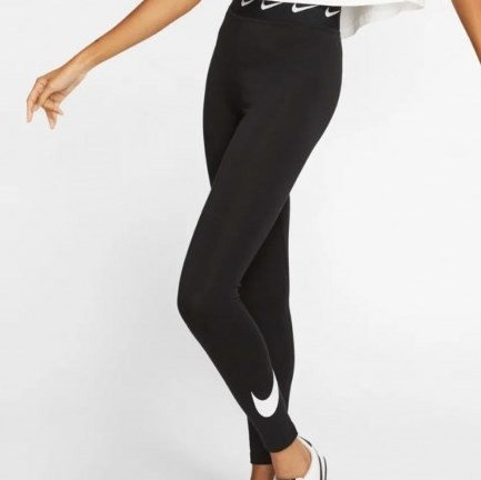 Legging Nike Sportwear Club Feminina - Preta
