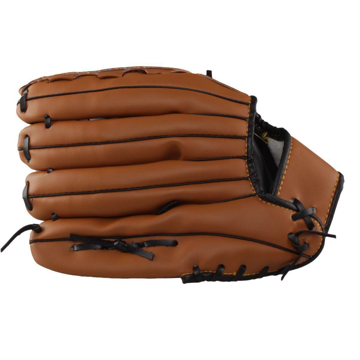 Luva de Baseball Hyper Sports PVC - Marrom