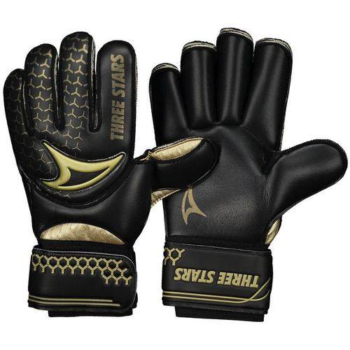 Luva De Goleiro Three Stars Gold - Adulto