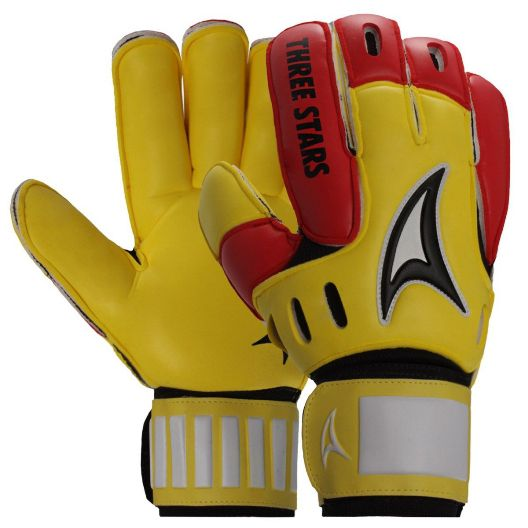 Luva De Goleiro Three Stars Hexa - Adulto