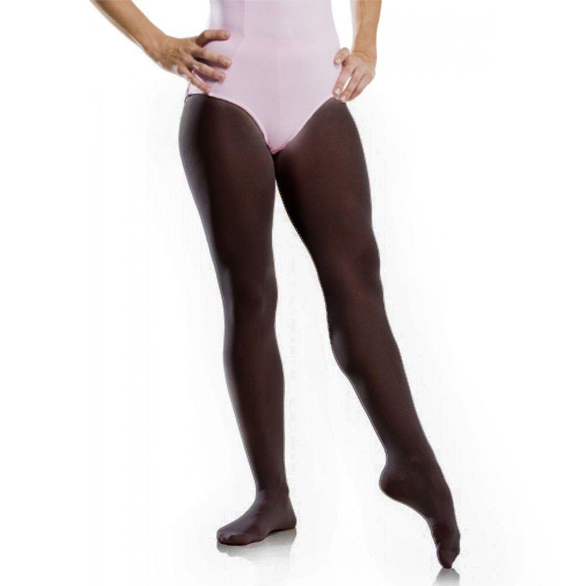 Meia Calça de Ballet com Pé - Só Dança - Infantil - Preto