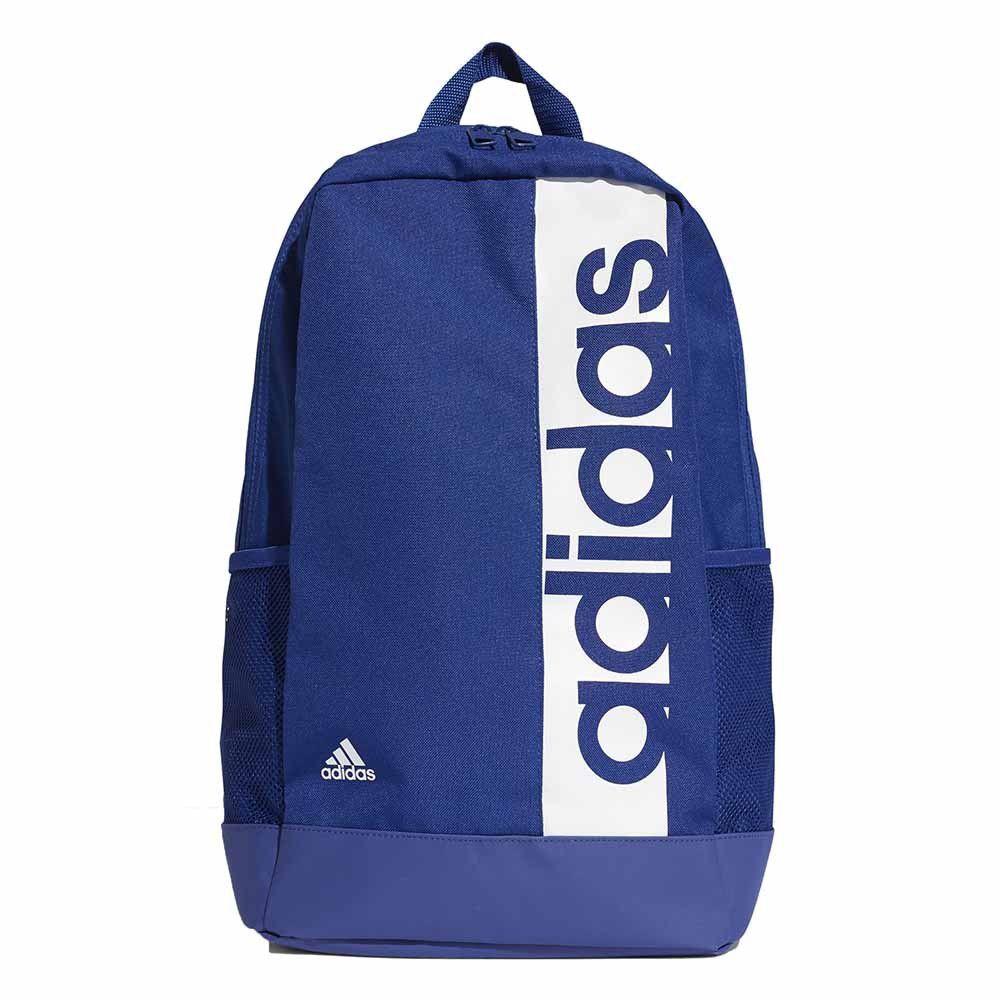Mochila Adidas Linear Performance BP Unissex- Azul/Branco