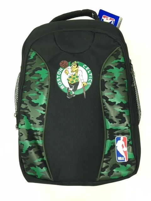 Mochila NBA Super Top Boston Celtics - Preto/Verde