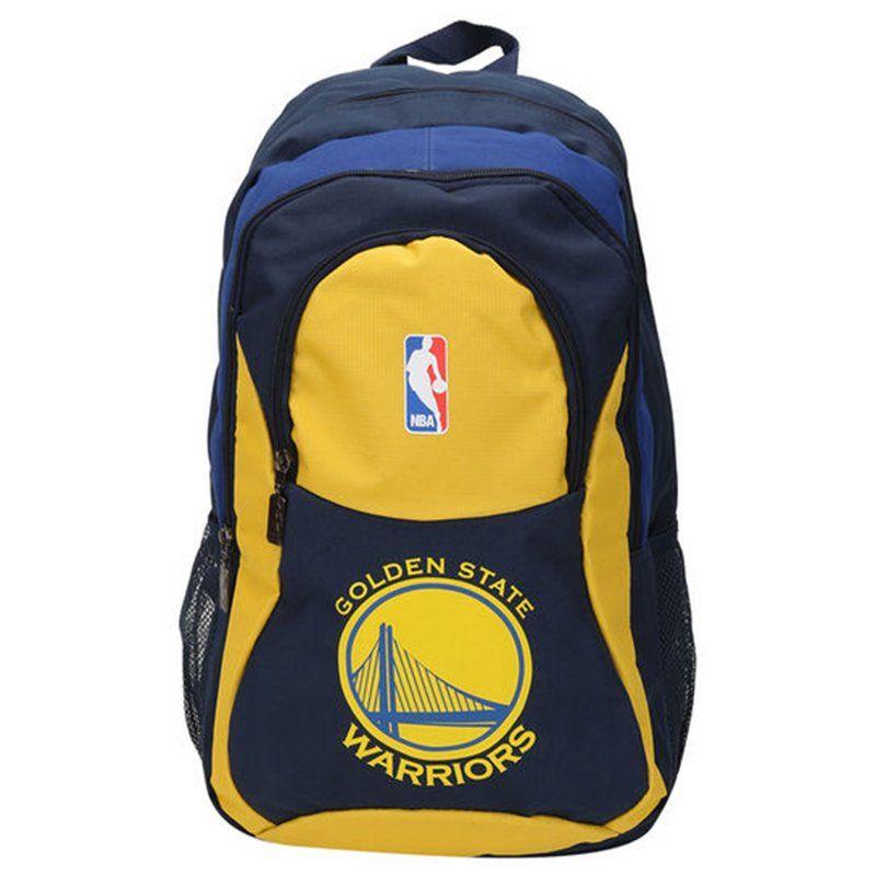 Mochila NBA Warriors - Azul/Amarelo