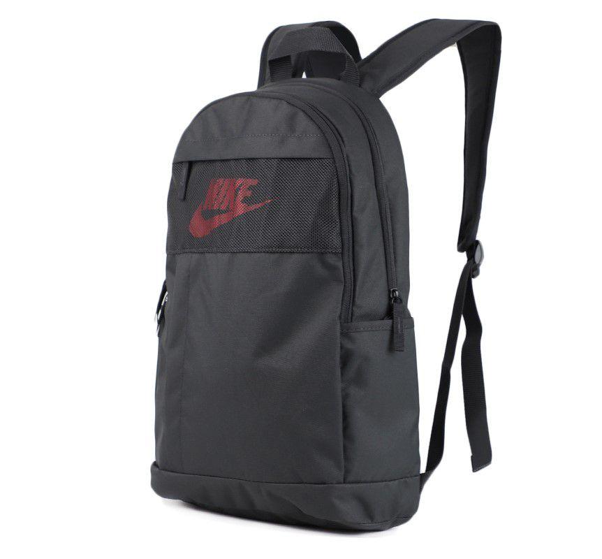 Mochila Nike Element 21L Unissex - Grafite e Vermelho