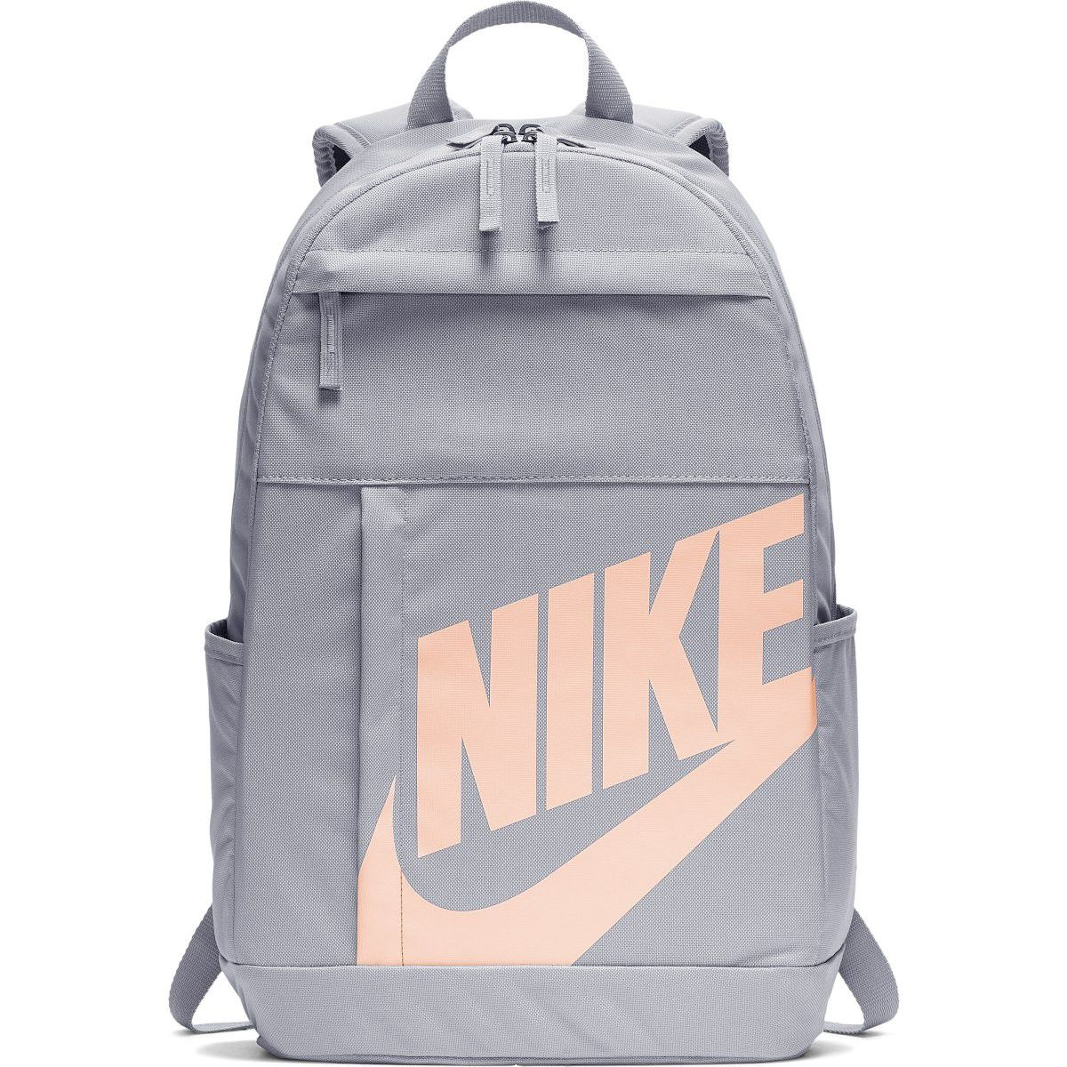 Mochila Nike Element Backpack 21L Feminina - Cinza e Rosa