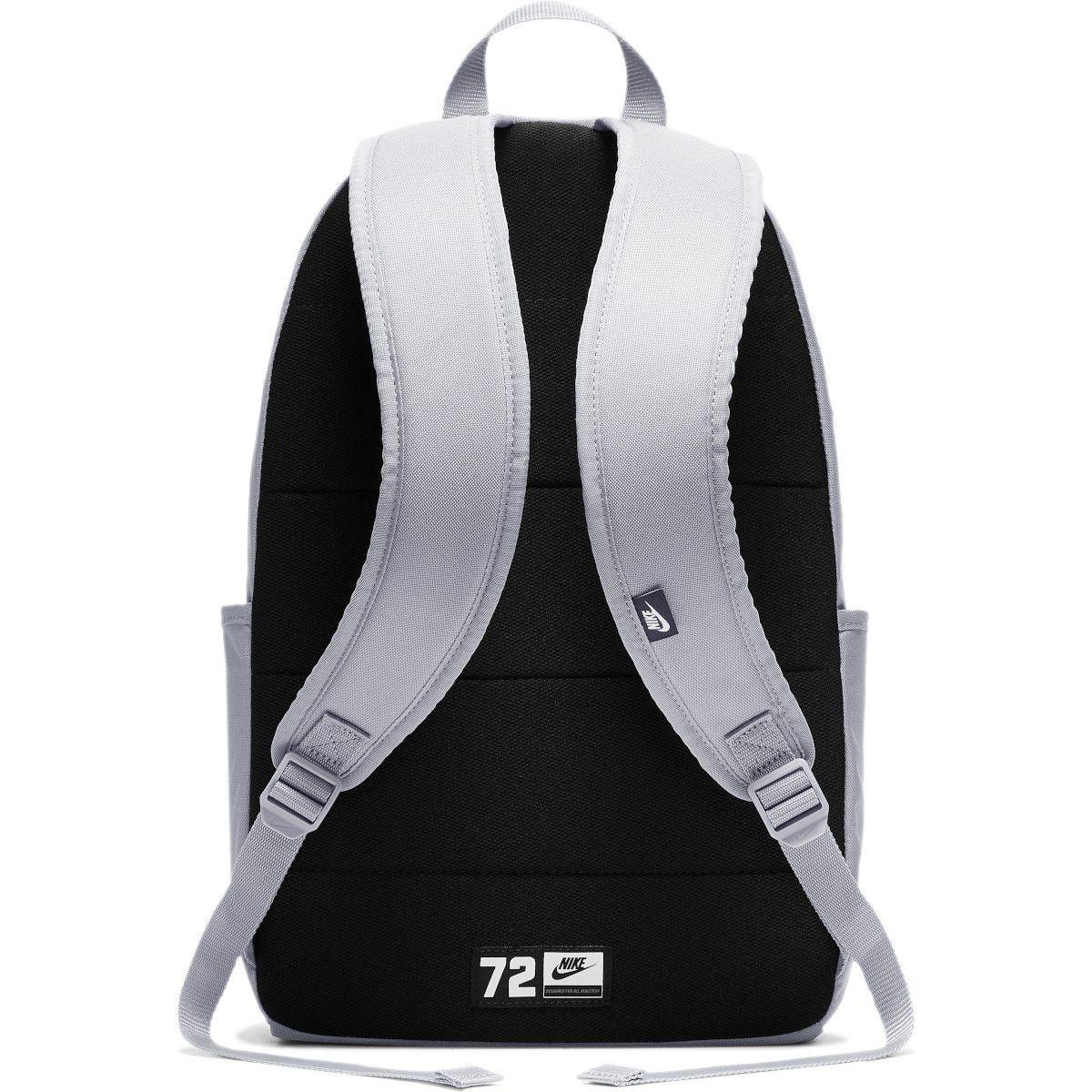 Mochila Nike Element Backpack 21L Feminina - Cinza e Rosa