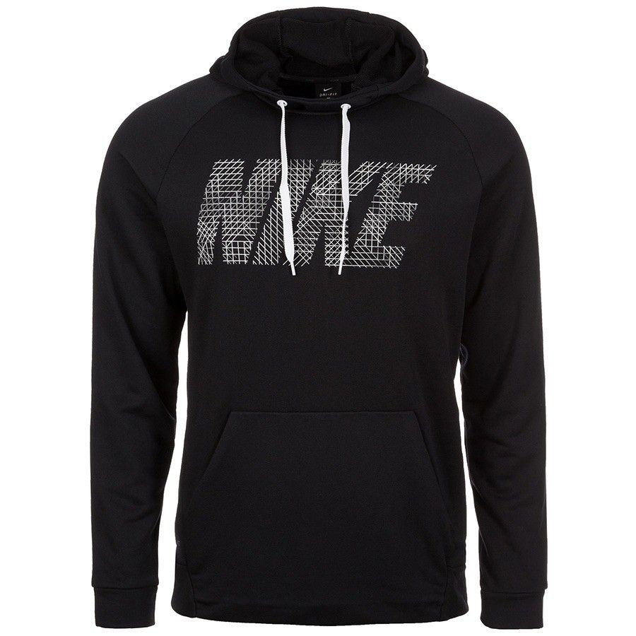 Moletom Nike Dry Fit Hoodie Masculino - Preto