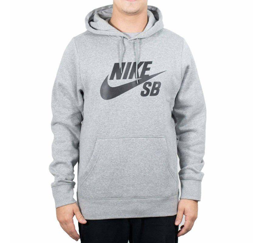 Moletom Nike Sb Icon Hoodie Masculino - Mescla