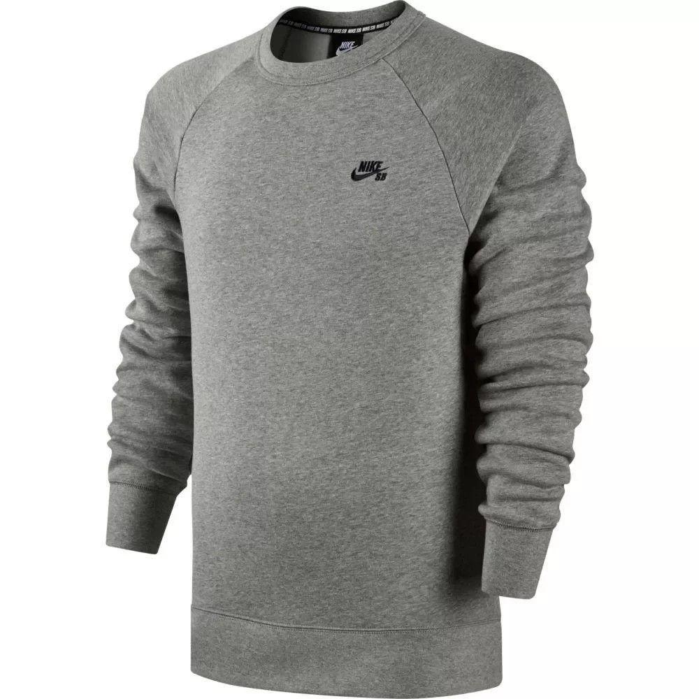 Moletom Nike Sb Icon Masculino - Mescla