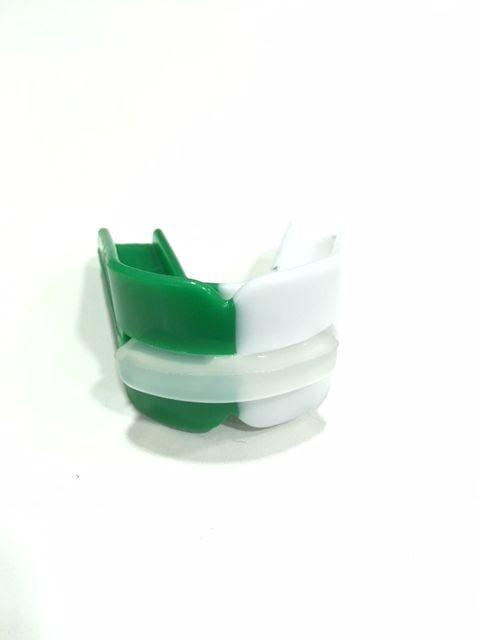 Protetor Bucal Starflex Duplo Branco/verde