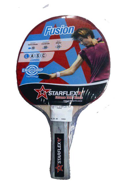 Raquete de Tênis de Mesa Starflex - Fusion - Ping Pong