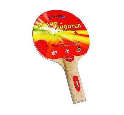 Raquete de Tênis de Mesa Klopf Sharp-Shooter - Ping Pong