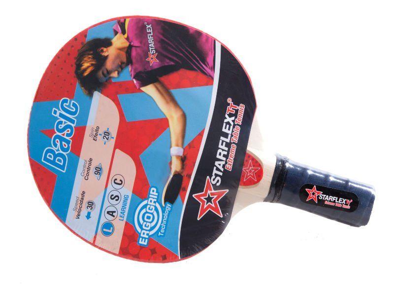 Raquete de Tênis de Mesa Starflex Basic - Ping Pong