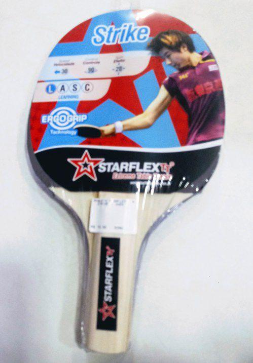 Raquete de Tênis de Mesa Starflex - Strike  -  Ping Pong