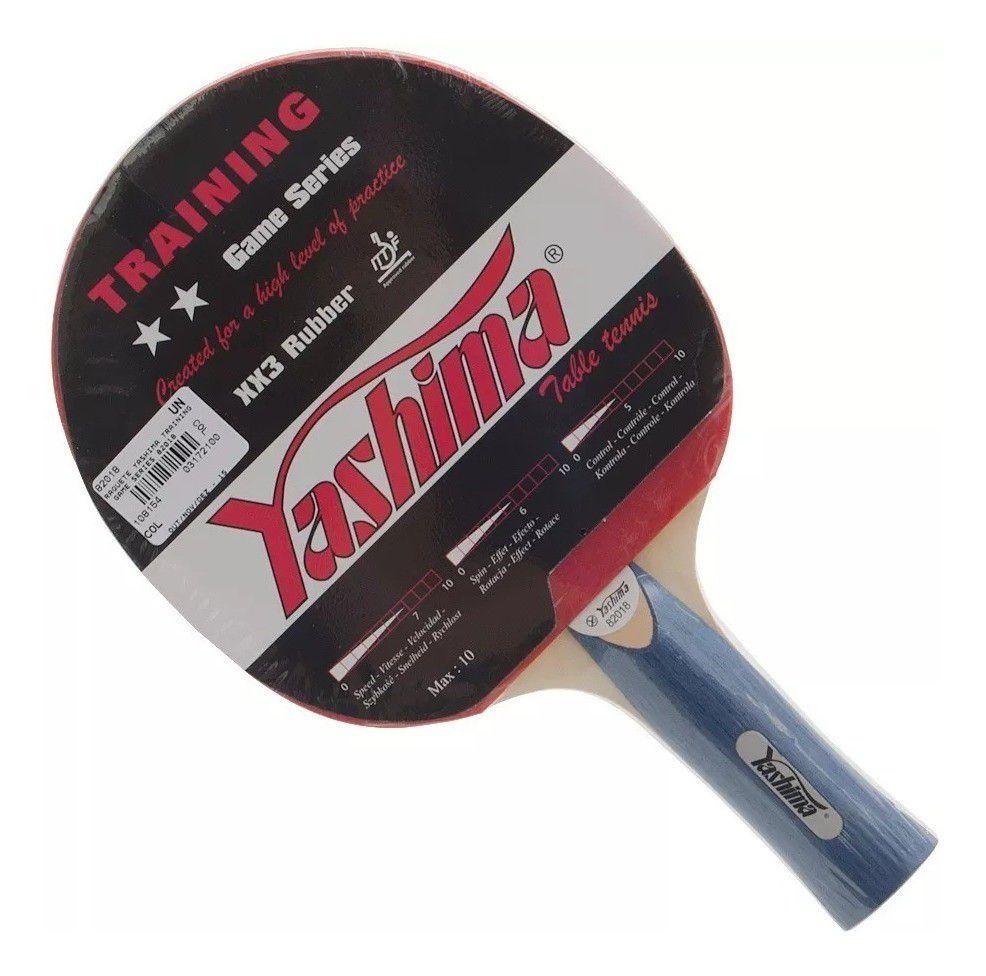 Raquete Tênis De Mesa Yashima Training 82018