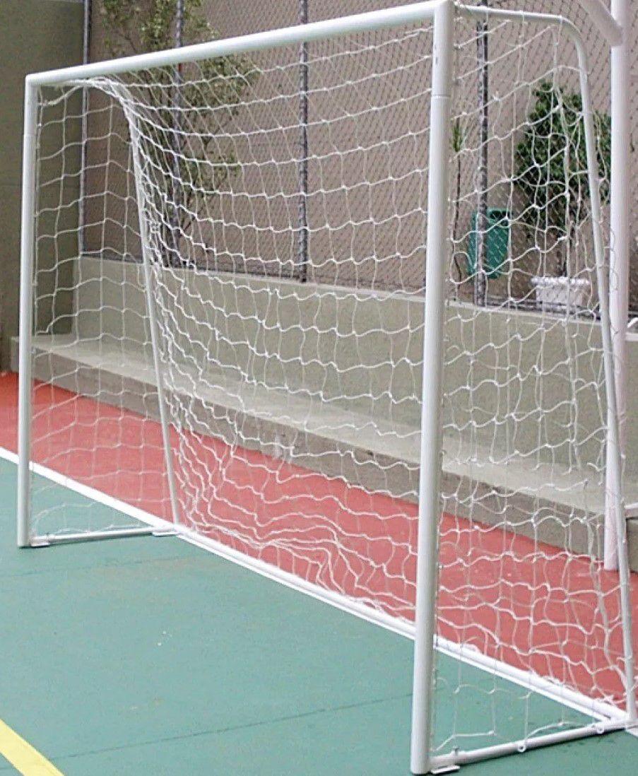 Rede De Futebol De Salão Fio 3 C/ Requadro Pangué