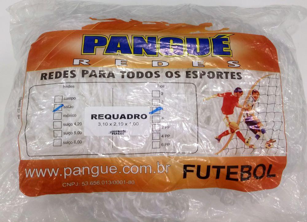 Rede De Futebol De Salão Fio 4 C/ Requadro Pangué