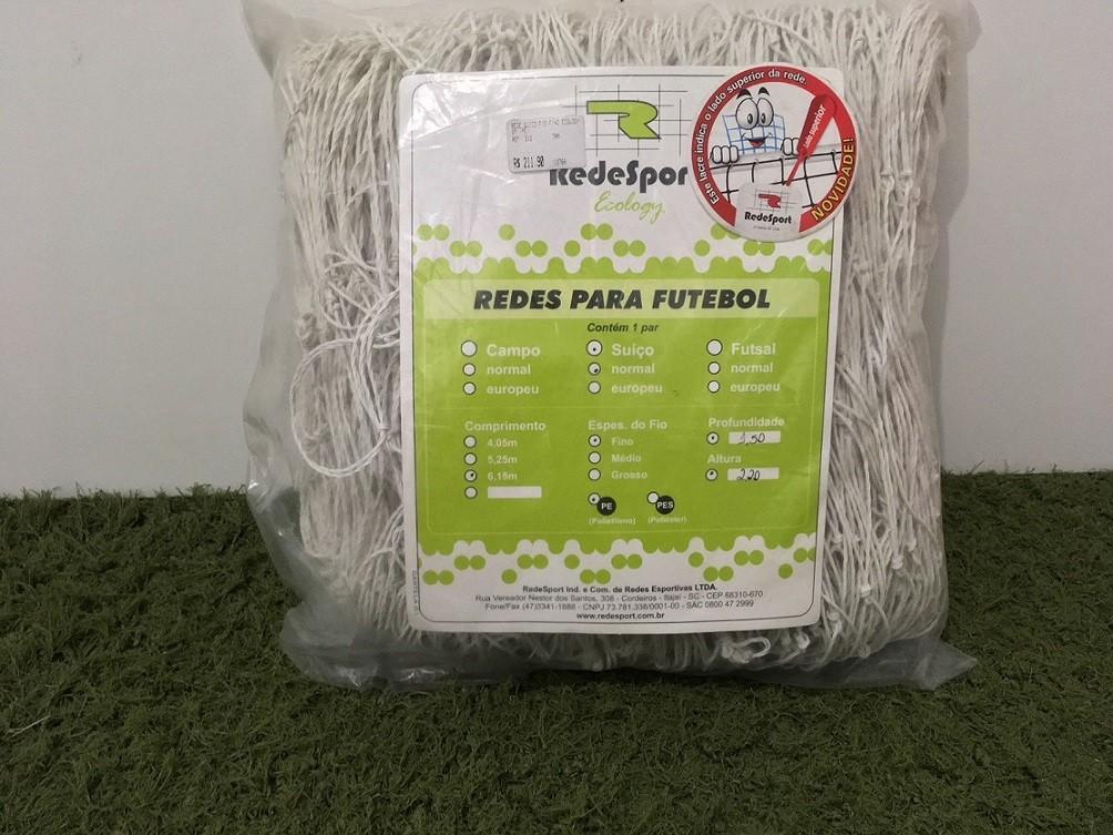 Rede Redesport Futebol Suiço  Ecology Fio Médio 6,15 m PE