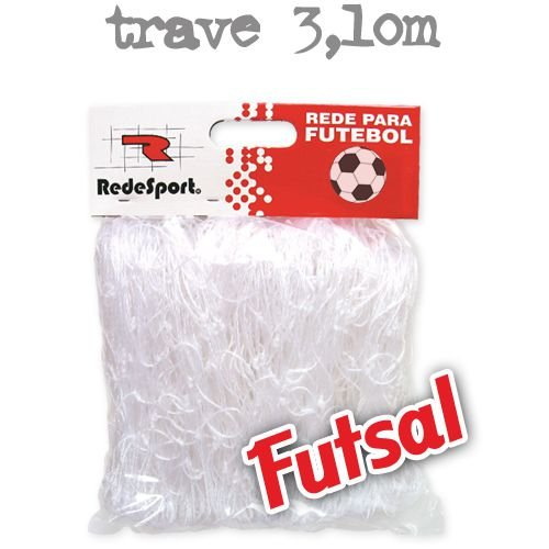 Rede Redesport Futsal Fio Seda Médio 3,0 PES