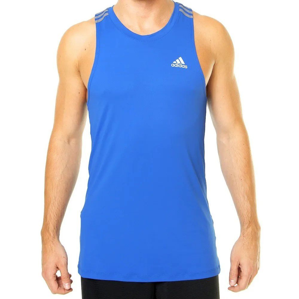 Regata Adidas 3S Climalite Adulto - Masculina