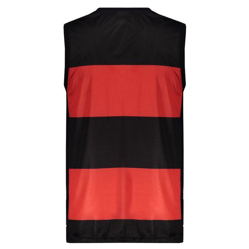 Regata Flamengo Braziline Hoop CRF - Preto/Vermelho